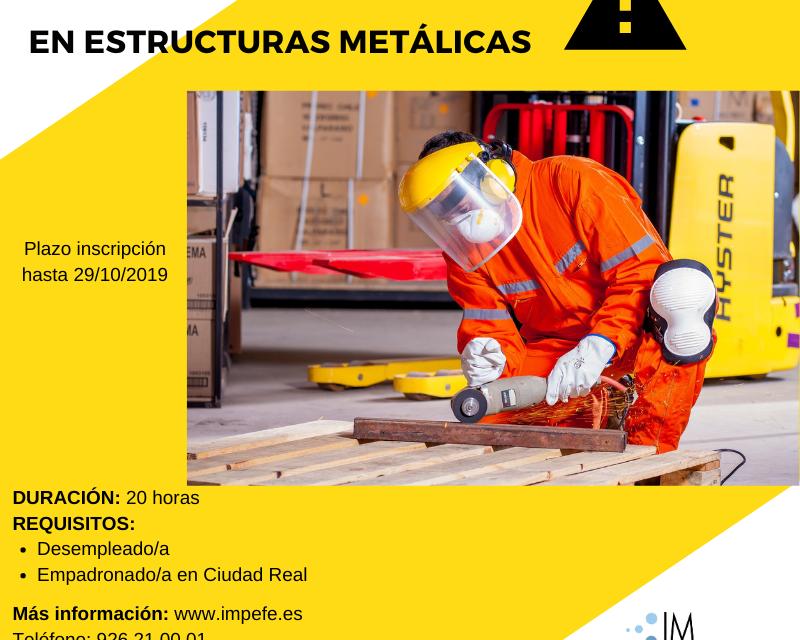 CURSO FORMACIÓN PRL EN ESTRUCTURAS METÁLICAS