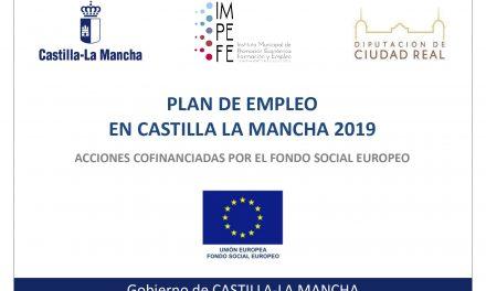 PLAN DE EMPLEO EN CASTILLA-LA MANCHA 2019-2020