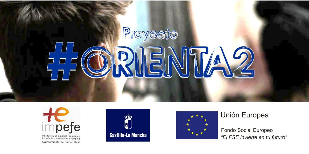 Listado provisional de aspirantes al proyecto #ORIENTA2 Ciudad Real
