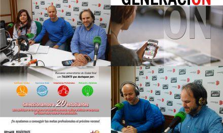 """El proyecto """"GENERACIÓN ON"""" (Ayuntamiento-IMPEFE y UCLM ) busca universitarios/as con talento y motivación personal"""