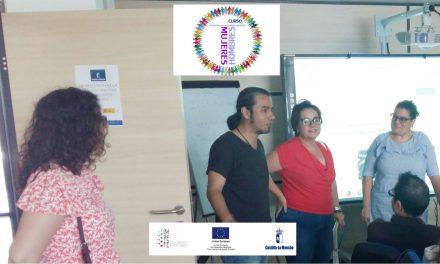 """Representantes del Ayuntamiento de Ciudad Real visitan el """"CURSO DE PROMOCIÓN PARA LA IGUALDAD"""""""
