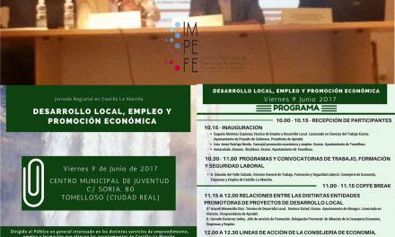 El IMPEFE participa en una jornada de desarrollo local, empleo y promoción económica