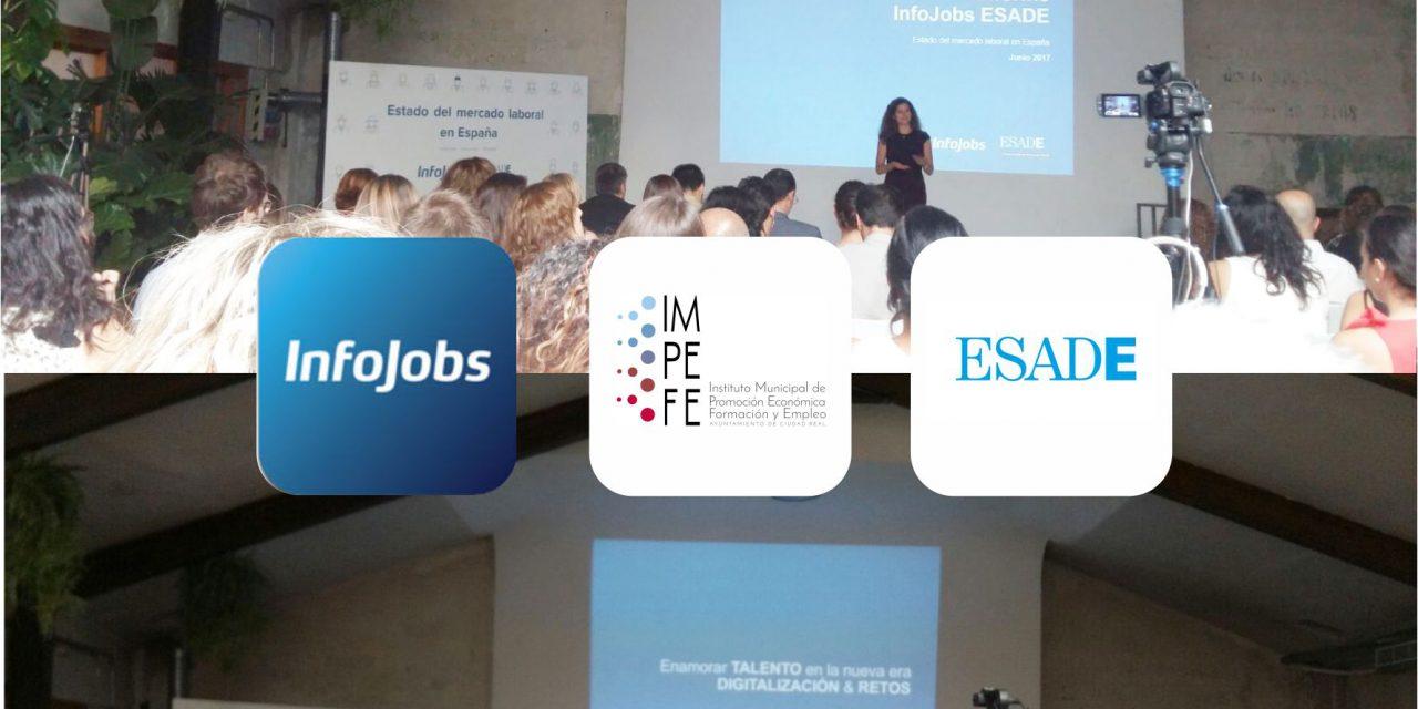 """El IMPEFE asiste a la presentación del """"Estudio sobre el estado del mercado laboral español"""""""