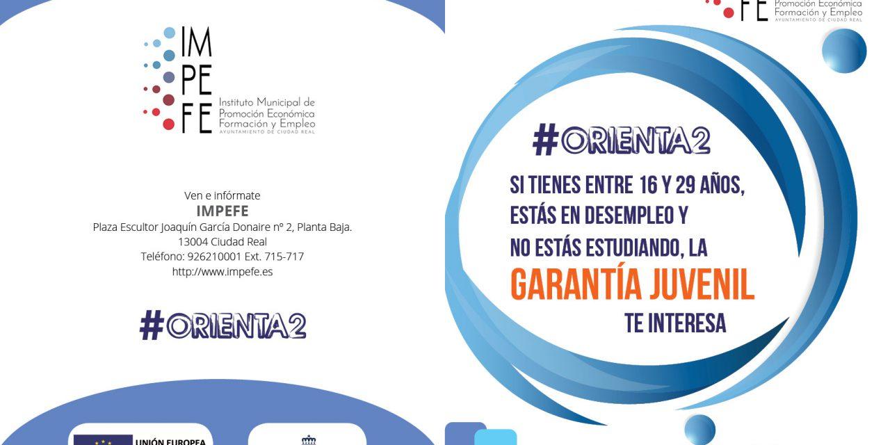 ABIERTO EL PLAZO DE INSCRIPCIÓN PARA NUEVOS CURSOS DEL PROYECTO #ORIENTA2