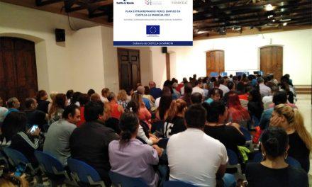 Acto de bienvenida a los trabajadores/as del Plan Extraordinario por el Empleo de Castilla-La Mancha