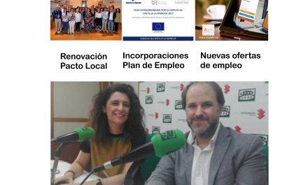 """La renovación del Pacto Local por el Empleo, el Plan de Empleo y nuevas ofertas laborales temas principales del espacio """"Buscando empleo"""""""