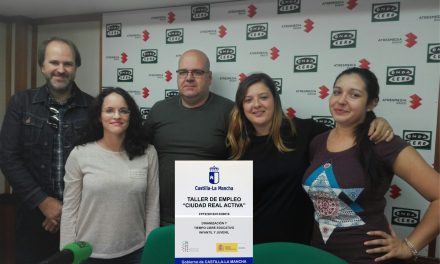 """Los alumnos/as de """"Ciudad Real Activa"""" afrontan con éxito su fase final de formación práctica para acceder al mercado laboral"""
