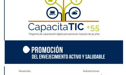 INCISO-Integración y el IMPEFE desarrollan el Programa CapacitaTIC+55 con cursos de capacitación digital en nuevas tecnologías para mayores de 55 años.