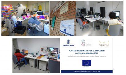 Los proyectos y actividades del Plan Extraordinario por el Empleo de Castilla La Mancha de Ciudad Real se están llevando a cabo con éxito