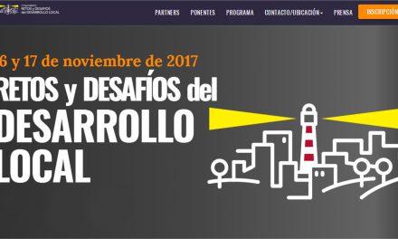 """El IMPEFE participará en el """"Congreso Nacional Retos y Desafíos del Desarrollo Local"""" los días 16 y 17 de noviembre"""