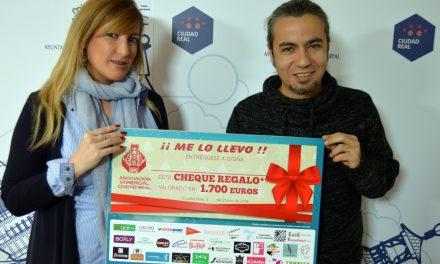 La Asociación Comercial de Ciudad Real sortea 1.700 euros entre los compradores de Navidad