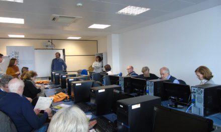 Clausura del curso de capacitación digital del proyecto CAPACITATIC +55