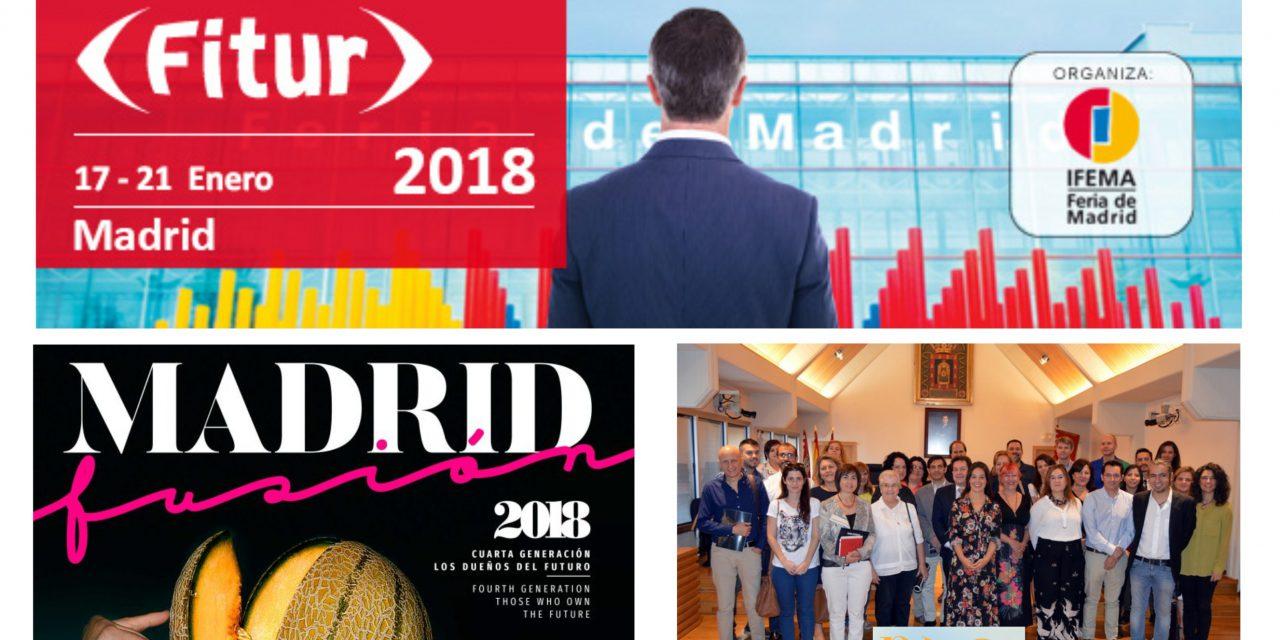 Actualidad IMPEFE : CIUDAD REAL se promocionará en FITUR y MADRID FUSIÓN y el Pacto Local por el Empleo se posicionará sobre el Polígono SEPES