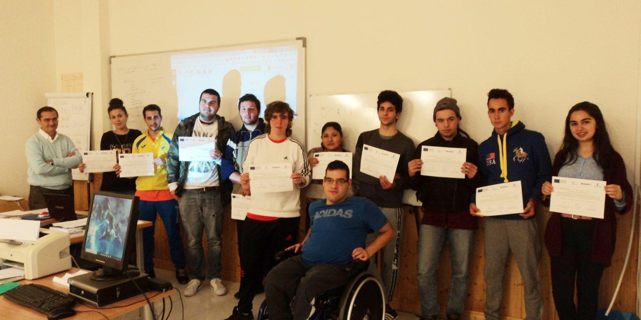 """Clausurado el curso de """"Informática básica y gestión administrativa"""" del Proyecto #ORIENTA2"""