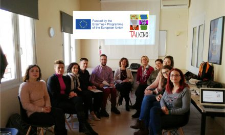 """El IMPEFE participa en unas jornadas de formación sobre migración del Programa Europeo """"TALKING"""""""