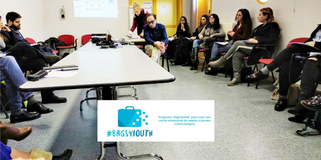 """APROFEM presenta su programa de """"Mentoring"""" en el proyecto europeo """"BAGS4YOUTH"""" del que forma parte el IMPEFE"""