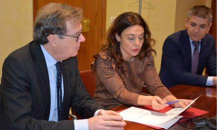 Pilar Zamora aborda con el Rector de la UCLM el Plan de Modernización de Ciudad Real