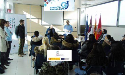 """30 jóvenes inician el certificado de profesionalidad de """"Grabador de datos"""" del Programa GARANTÍA CIUDAD REAL"""