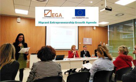 """El Instituto Municipal asiste a una jornada del proyecto europeo """"MEGA""""para la promoción del emprendimiento por parte de personas migrantes"""