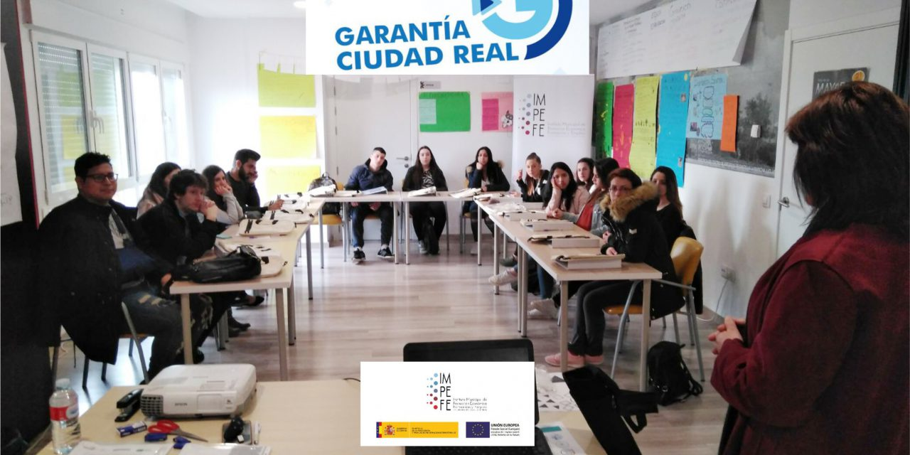 """Comienza el certificado de profesionalidad de """"Atención Sociosanitaria"""" del programa Garantía Ciudad Real"""