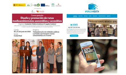 """Actualidad IMPEFE: Proyectos """"EmpleaVerde"""", Programa Europeo """"Bags4Youth"""", la Mesa del Comercio presentará una plataforma informática sobre locales comerciales en Ciudad Real y nuevas ofertas de empleo"""