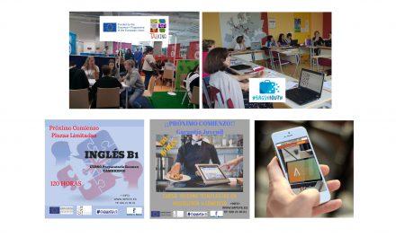 """Actualidad IMPEFE: Cursos gratuitos de #ORIENTA2, proyectos europeos """"Talking"""" y """"Bags4Youth"""" y nuevas ofertas de empleo"""