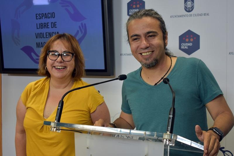 """El Ayuntamiento de Ciudad Real promueve """"Espacios libres de Violencia Machista"""""""