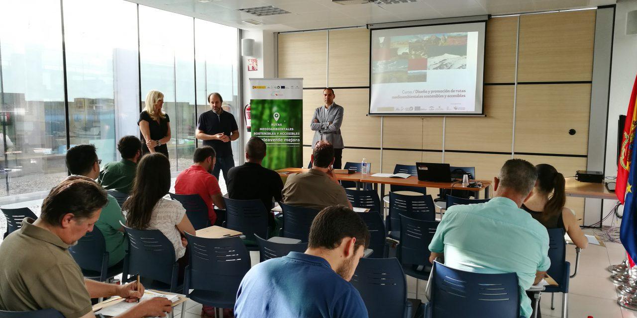 """Arranca el curso de """"Diseño y promoción de rutas medioambientales"""" del programa Empleaverde"""