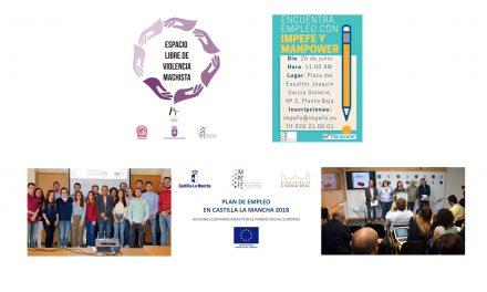 Actualidad IMPEFE: Espacios libres de violencia de género, mentorización con Manpower, Generación ON, publicación seleccionados varias convocatorias y nuevas ofertas de empleo
