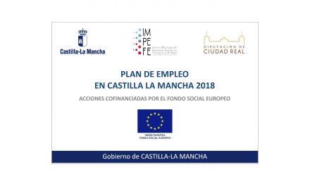 Publicadas las bases del Plan de Empleo 2018 en Castilla-La Mancha