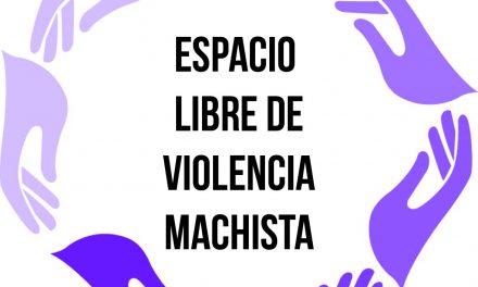 ÚLTIMOS DÍAS PARA INSCRIBIRSE EN LOS TALLERES PARA LOGRAR EL DISTINTIVO DE ESPACIO LIBRE DE VIOLENCIA MACHISTA