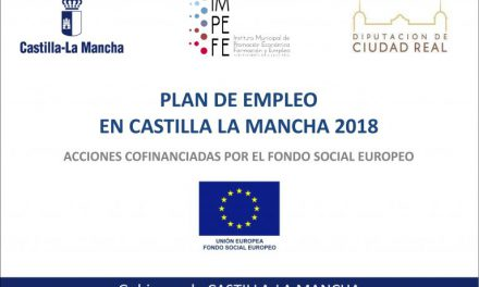 PUBLICADO EL LISTADO PROVISIONAL DE PERSONAS SELECCIONADAS, EN RESERVA Y EXCLUIDAS DEL PLAN DE EMPLEO EN CASTILLA-LA MANCHA 2018