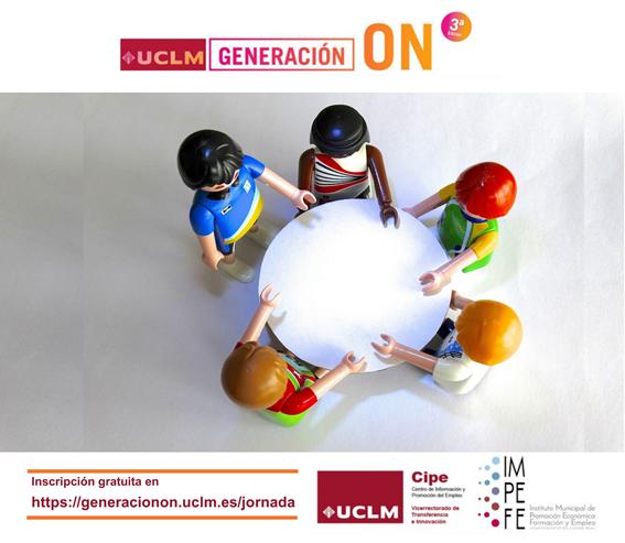 """La Jornada """"El poder de la comunicación para conquistar el mercado laboral"""" pondrá el broche final al programa """"Generación On"""""""