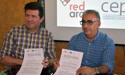 """EL IMPEFE Y RED ARAÑA COLABORARÁN EN EL PROYECTO """"YO EMPRENDO EN ECONOMÍA SOCIAL SUR´´"""