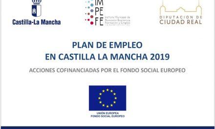 PUBLICACIÓN DE LISTAS PLAN DE EMPLEO 2019-20