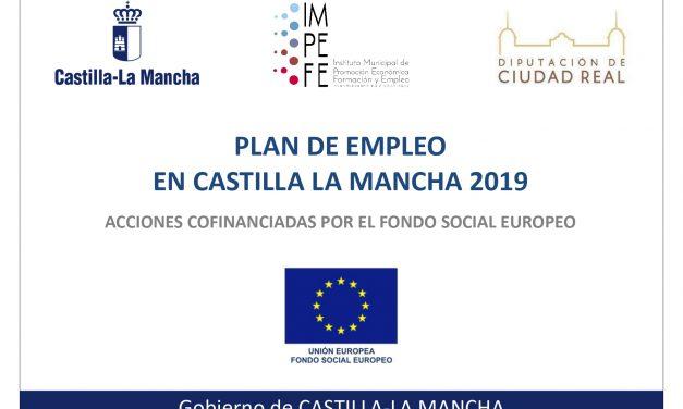 PUBLICACIÓN DEL LISTADO DEFINITIVO DEL PLAN DE EMPLEO 2019-2020