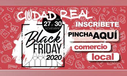 """LOS COMERCIOS DE CIUDAD REAL YA PUEDEN ADHERIRSE A LA CAMPAÑA """"BLACK FRIDAY 2020"""""""