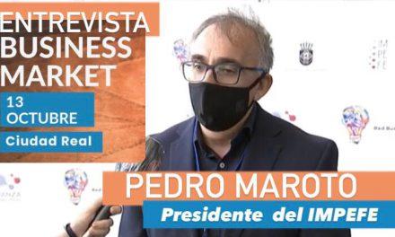 LINK VALORACIONES DEL FORO CIUDAD REAL BUSINESS MARKET DEL PRESIDENTE DEL IMPEFE, PEDRO MAROTO