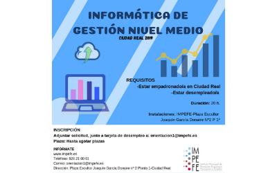 Curso de Informática de Gestión Nivel Medio
