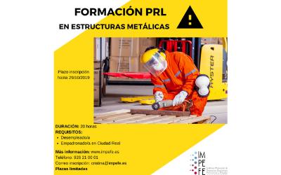 Curso PRL en Estructuras Metálicas V