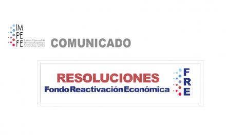 ACLARACIÓN DE LA PUBLICACIÓN DE LAS BASES DEL FONDO DE REACTIVACIÓN SOBRE CUANTÍAS DE LA SUBVENCIÓN