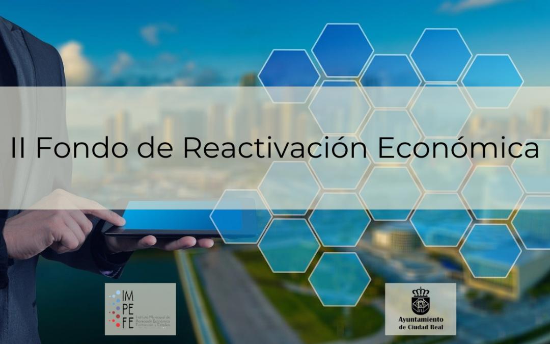 Publicadas las bases para el II Fondo de Reactivación Económica