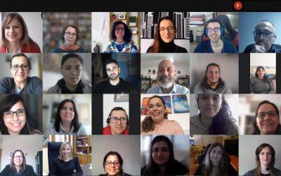 Videoconferencia con participantes de las Lanzaderas Conecta Empleo de Albacete y Ciudad Real
